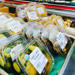 Luscious, locally-made pickles